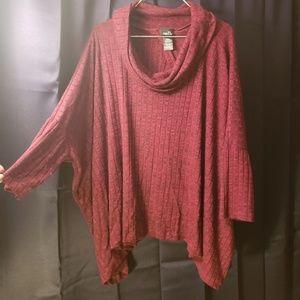Cowl Neck Shawl/Sweater